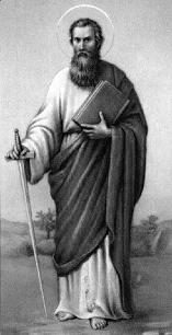 San Pablo: «Cristo me ha enviado a predicar el Evangelio sin alterar el mensaje de la cruz.» (1Cor. I,17)