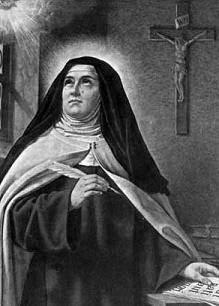 Sta. Teresa de Jesús: «Nada te turbe, nada te espante; todo se pasa; Dios no se muda. La paciencia todo lo alcanza; quien a Dios tiene, nada le falta. Sólo Dios basta.»